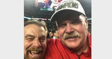 Howard Eskin and Andy Reid