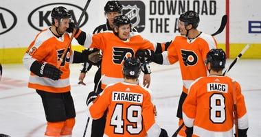 Flyers goal