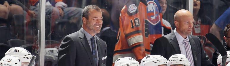 Flyers head coach Alain Vigneault