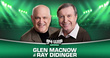 Glen Macnow and Ray Didinger 94WIP