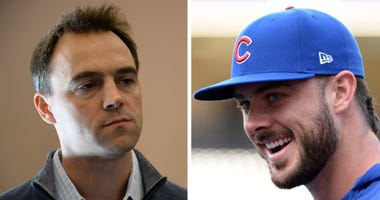 Matt Klentak and Kris Bryant