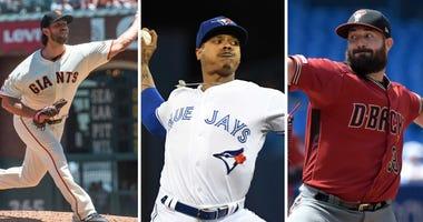 MLB starting pitcher trade options