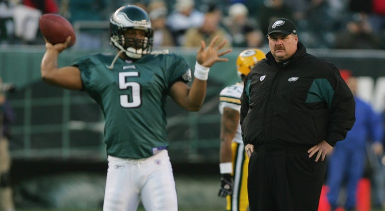 Andy Reid and Donovan McNabb