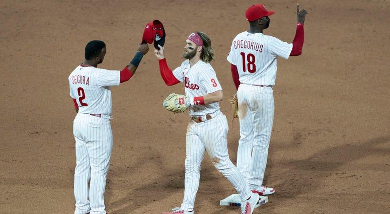 Phillies win