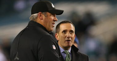 Howie Roseman and Doug Pederson