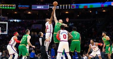 Sixers Celtics