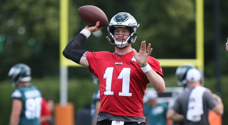 Eagles Practice Observations Carson Wentz Cornerback Stats From