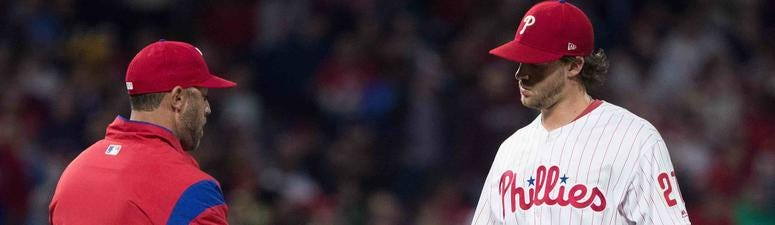 Why Phillies' Aaron Nola is struggling