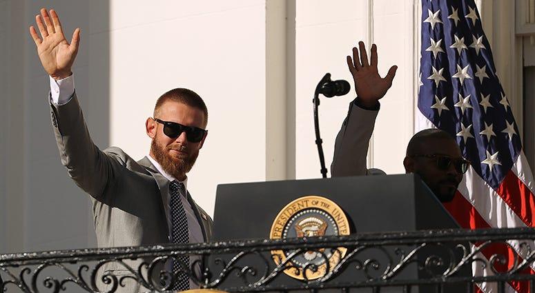 Stephen Strasburg Howie Kendrick – Nationals' White House Visit