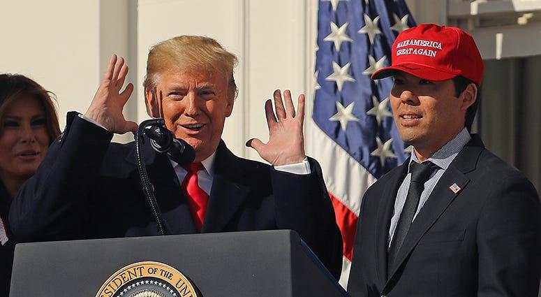 Kurt Suzuki Make America Great Again hat