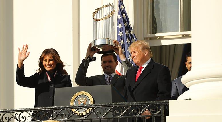 Ryan Zimmerman – Nationals' White House Visit