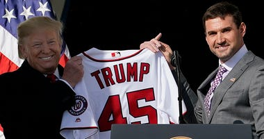 Ryan Zimmerman – Nationals' White House Visit