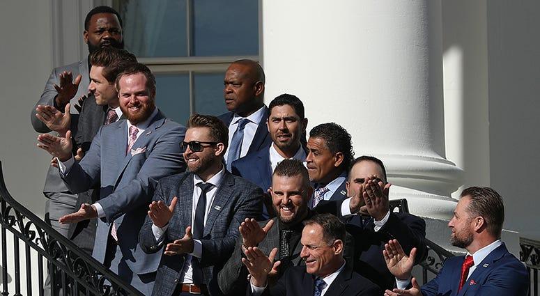 Baby Shark – Nationals' White House Visit
