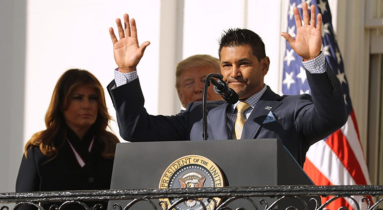 Dave Martinez – Nationals' White House Visit