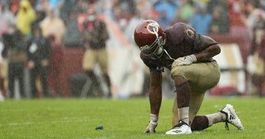 A miserable Redskins season trudges on