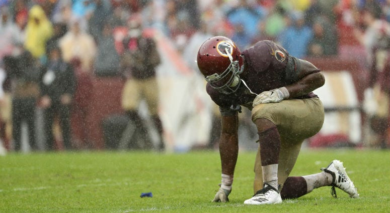 A miserable Redskins season trudges on