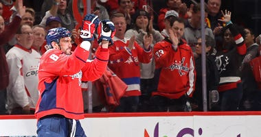 The tear Ovechkin's been on 'is insane,' John Carlson says