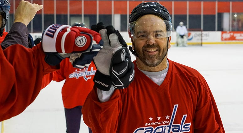 Sports Junkies host John 'Cakes' Auville raring to go as the 2019 Caps Media Fantasy Camp begins