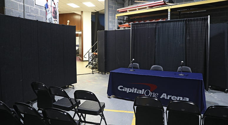 Wizards, Capitals stay open to public as Coronavirus spreads