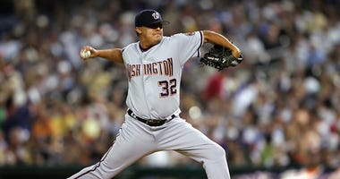 Is Chad Cordero throwing out a World Series first pitch?