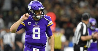 Kirk Cousins, Vikings agree to two-year extension