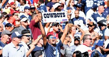 Cowboys fans turn FedEx Field hostile for Redskins