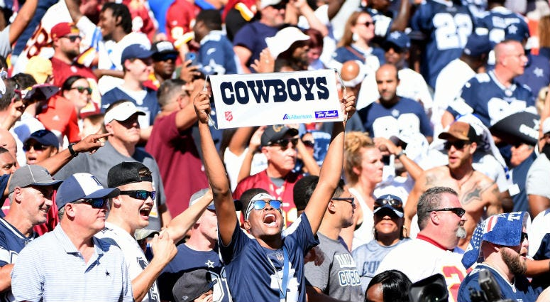 Cowboys fans turn FedEx Field hostile for Redskins