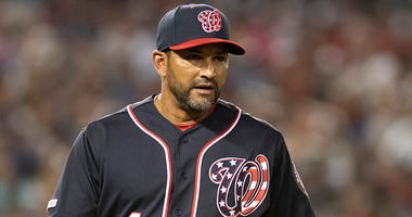 Nationals manager Dave Martinez home from hospital