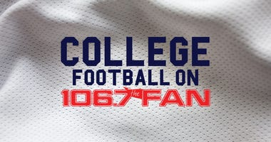 Listen to College Football games on 106.7 The Fan