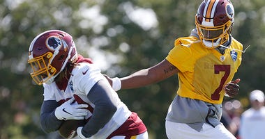 Derrius Guice still not medically cleared to play in games