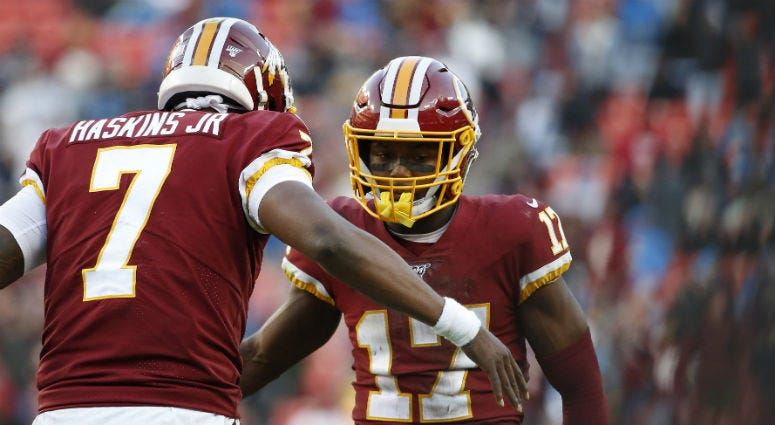 Santana Moss points to one reason for Redskins hope