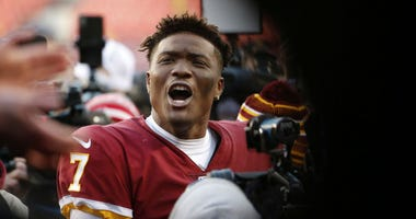 Haskins leads Skins to victory, but is no 'closer' just yet