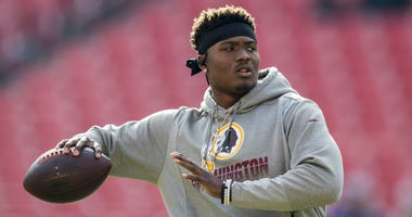 Dwayne Haskins brings peace of mind at QB in rookie season