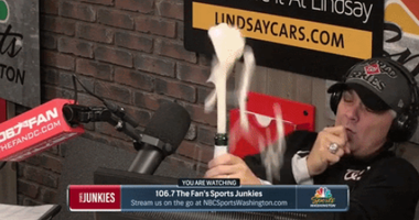 After World Series, why can't Junkies' EB pop champagne?