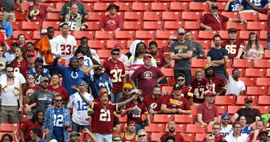 Redskins fans are stuck in 'pit of despair'