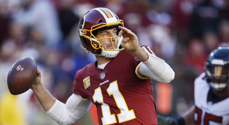Redskins quarterback Alex Smith says he still hopes to play in the NFL.