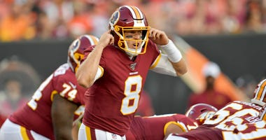 Washington Redskins quarterback competition stuck in same spot.