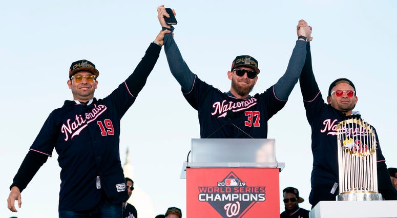 Photos of Nationals' World Series parade are insane