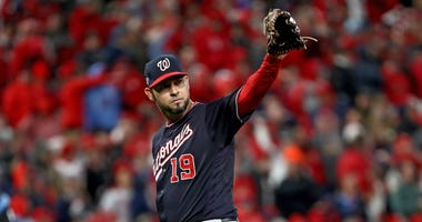 Anibal Sanchez loses no-hit bid but wins Game 1