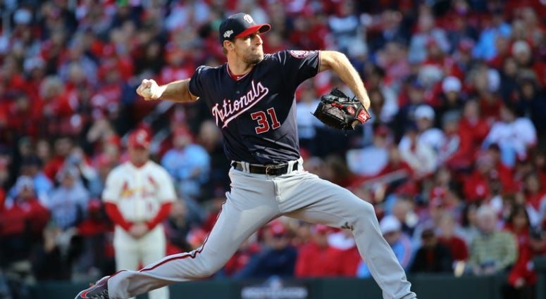 Max Scherzer pitches a gem in NLCS Game 2