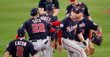 What rust? Nats complete Game 1 comeback win