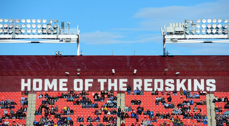 Redskins fans attending a game at FedEx Field in 2019