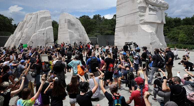 DC's Juneteenth march to the Martin Luther King, Jr. Memorial