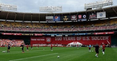 Washington D.C. launches a bid to be a host city for the 2026 FIFA World Cup.