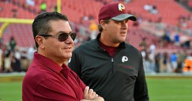 After firing Gruden, who will coach Redskins next?