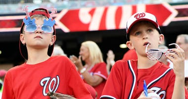 Washington Nationals announce Kids Eat Free program.