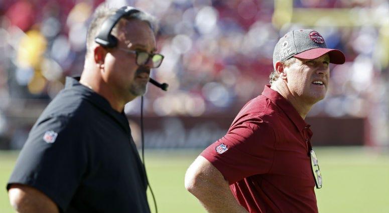 Redskins defensive staff safe, Jay Gruden says