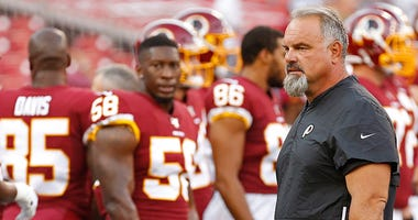 What's stopping Gruden from firing Greg Manusky?