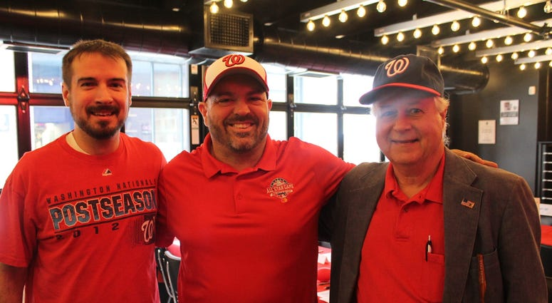 Max Scherzer, of the Washington Nationals, hosted the Scherzer Fantasy Football Draft at the Pearl Street Warehouse on Saturday, where fans and listeners participated in the day's events.