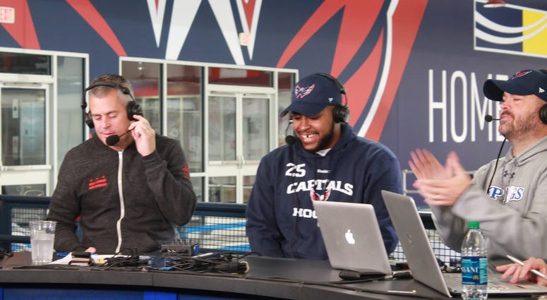 The Sports Junkies interview Devante Smith-Pelly (DSP), Canadian professional ice hockey winger for the Capitals.